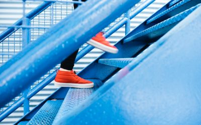 """""""There is no lift to success… You have to take the stairs""""…"""