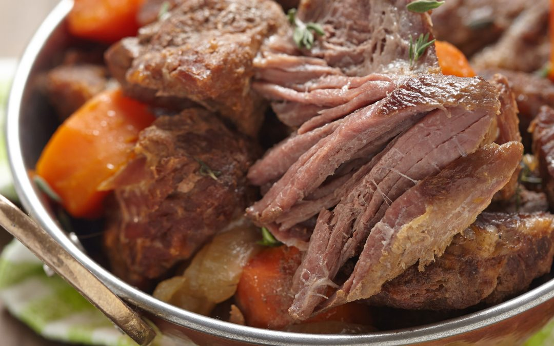 Slow Cooked Lamb in Spanish Lager